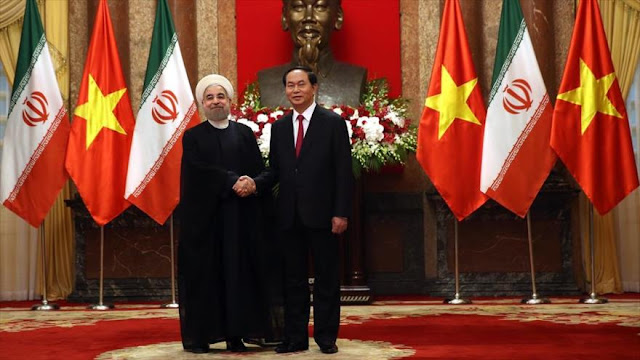 Irán y Vietnam cimentan sus relaciones bilaterales