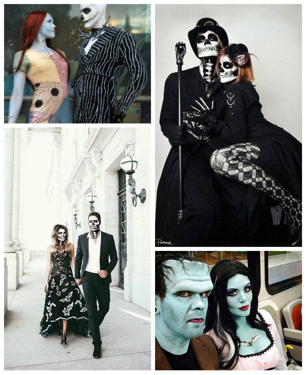 10 Ideas de disfraces de Halloween para parejas