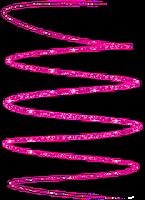 fio de luz pink glitter