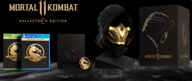 Mortal Kombat 11 Game  Kollector Edition
