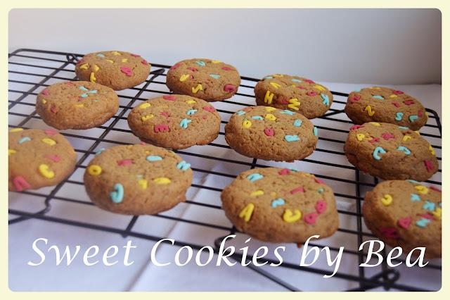 Cookies de letras y speculoos