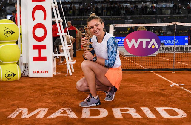 wta Finala Madrid Open 2017 Simona Halep vs Kristina Mladenovic 7-5, 6-7, 6-2 rezumat VIDEO WTA Highlights youtube video wta simona halep kristina mladenovici madrid open finala 2017 wta videos youtube simona halep