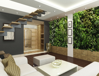 home and garden interior design salas con jardines verticales ideas para decorar 23931