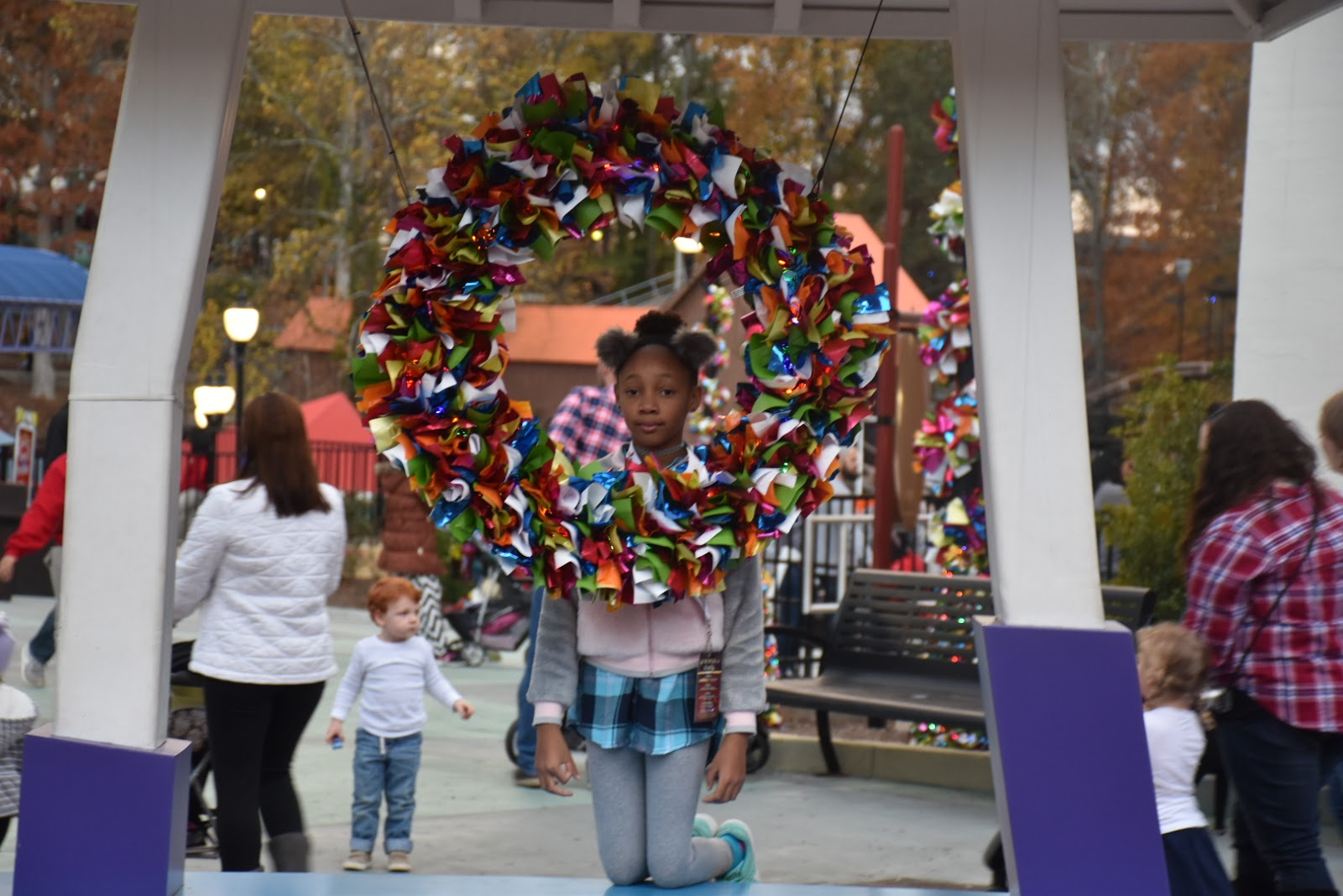 Six Flags Holiday in the Park  via  www.productreviewmom.com