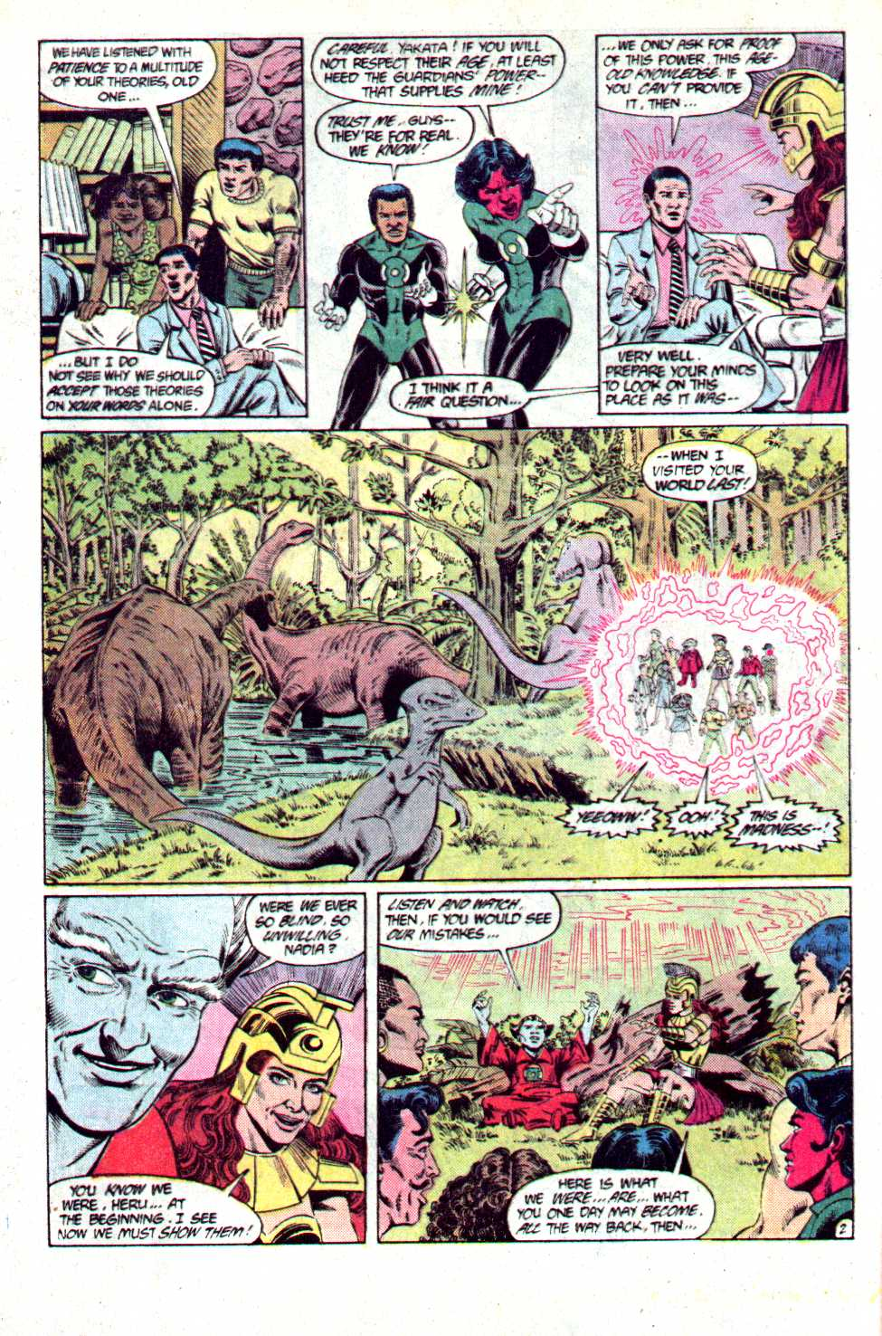 Read online Secret Origins (1986) comic -  Issue #23 - 3