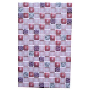 Keramik Dinding Arwana UNO Emerald Pink 25x40 Jaya