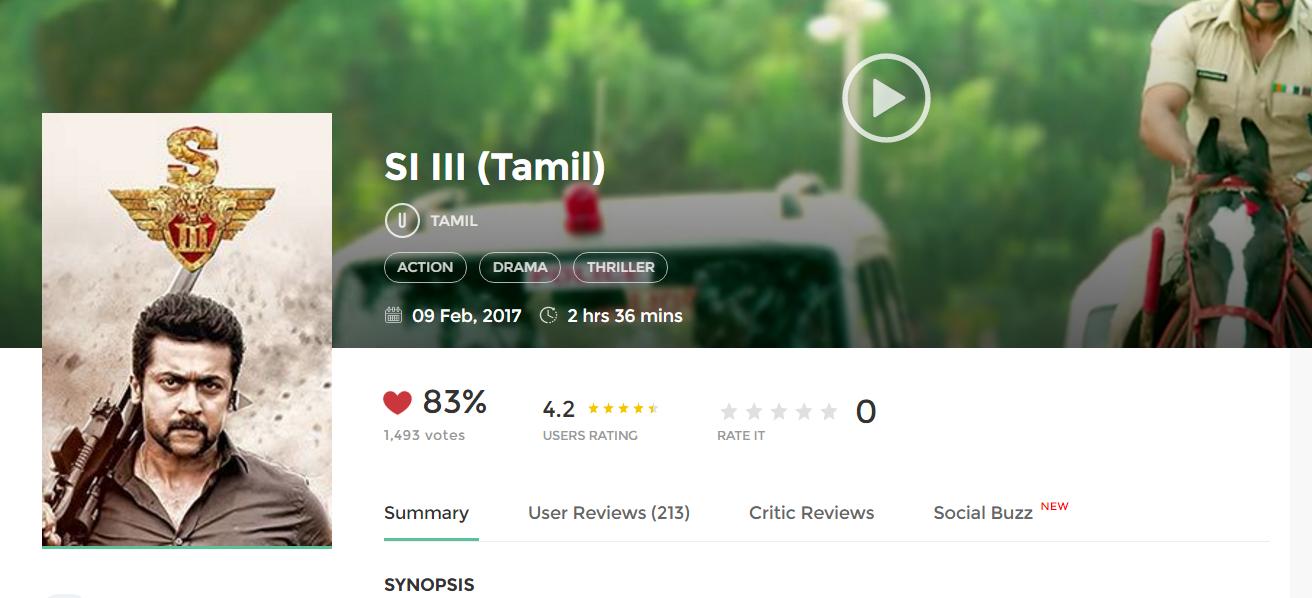 si3 2017 full tamil movie 700mb hd 300mb
