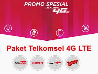Telkomsel, 4G Telkomsel, 4G LTE, 4g telkomsel di indonesia, As, Simpati Loop, kartuHalo