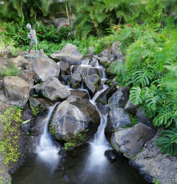 Air Terjun Taman Jepretan Vivo Y83