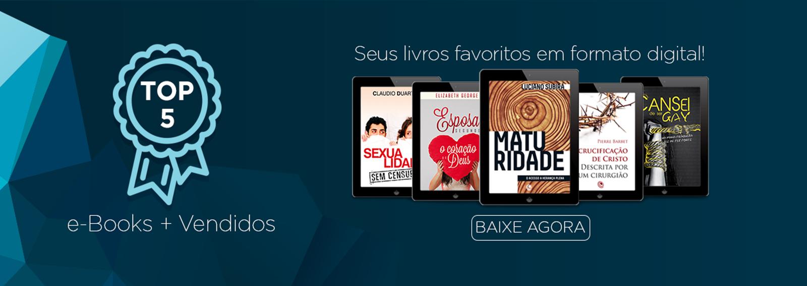 Encontre aqui E-books evangélicos, seu livro gospel digital, a facilidade de ler seu livro favorito em se dispositivo móvel