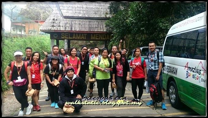 Gunung Kinabalu Kembali Tersenyum