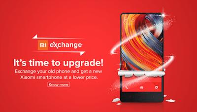 Mi Mobile exchange offer on Old mobile