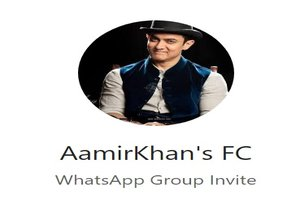 Aamir Khan WhatsApp Group Link Of 2018