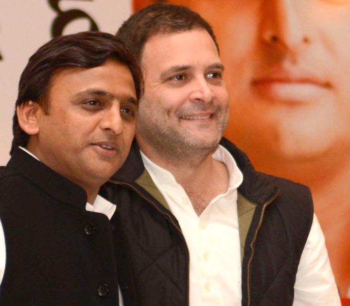 अखिलेश यादव और राहुल गांधी की जोड़ी