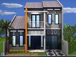 desain rumah dua lantai | denah rumah sederhana dan minimalis