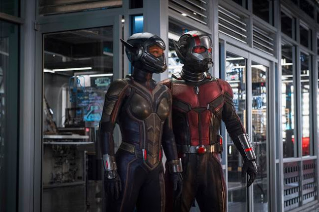 Ant man and the wasp, come for the action, stay for the comedy