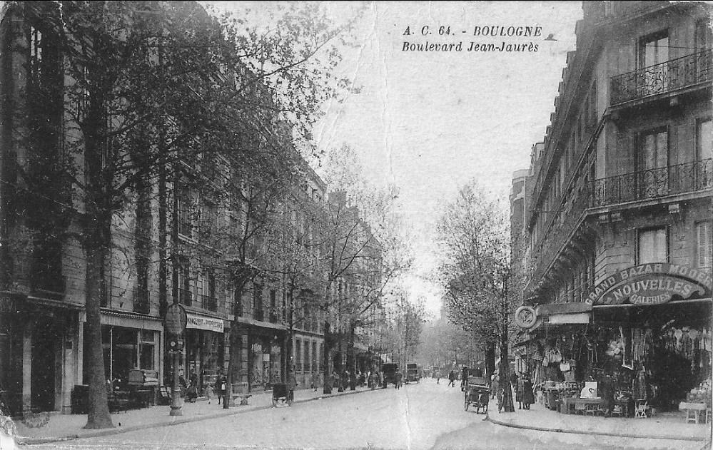 CommercesImmarcescibles Nouvelles Galeries  Boulogne