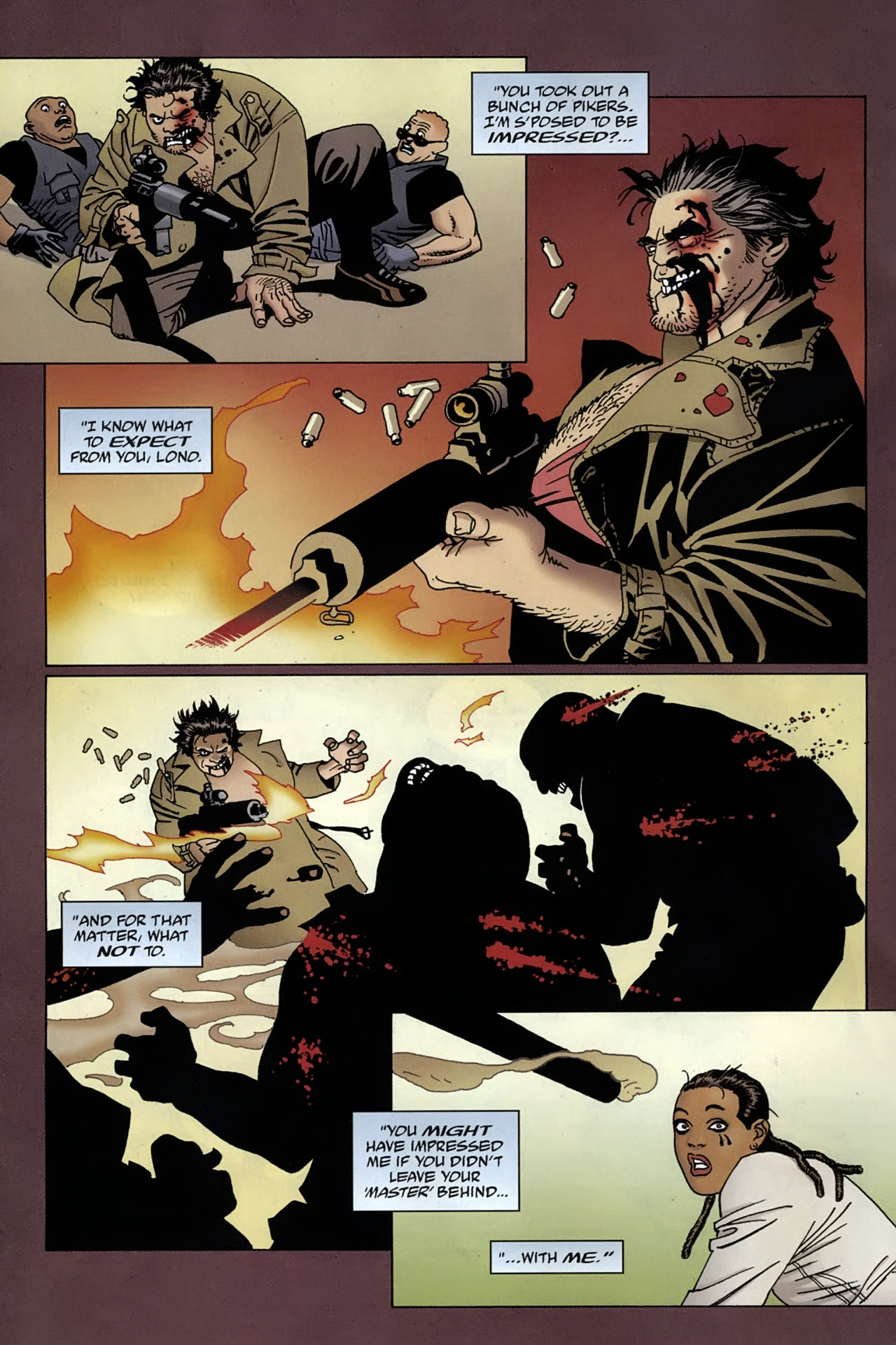 Read online 100 Bullets comic -  Issue #96 - 5