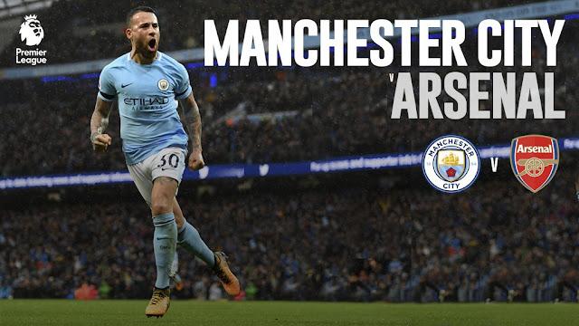 Manchester City vs Arsenal Goals and Match Highlight (5 November 2017 )