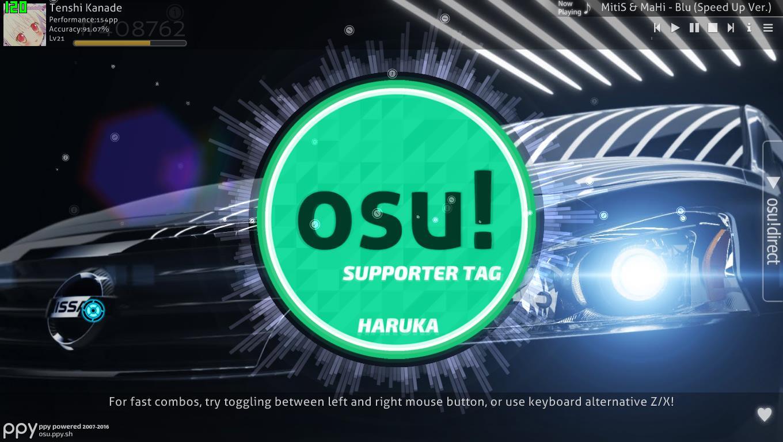 how to put skins in osu