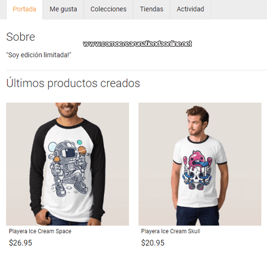 Productos de Zazzle