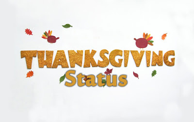 Thanksgiving Status [Facebook & Whatsapp]