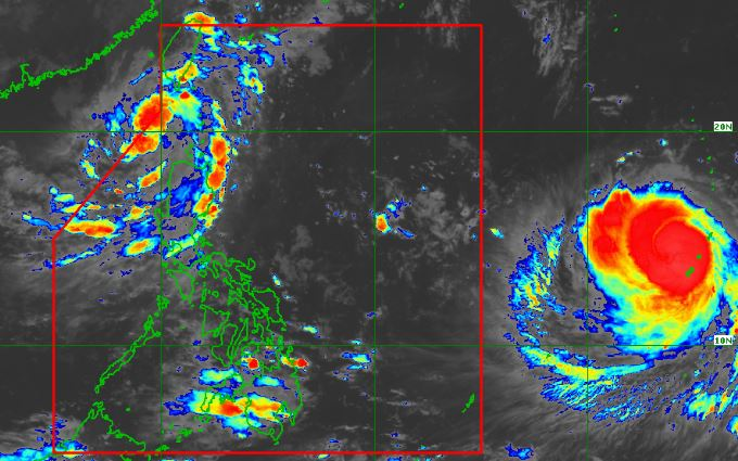 Bagyong Neneng, 'supertyphoon' Mangkhut PAGASA weather update September 10, 2018