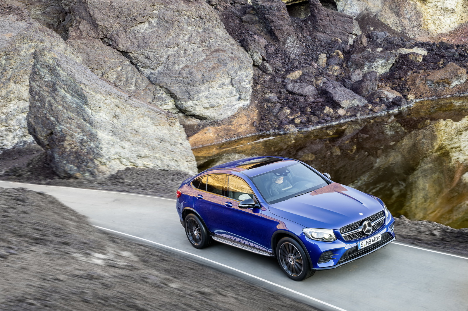 new mercedes glc coupe priced from 49 444 in germany carscoops. Black Bedroom Furniture Sets. Home Design Ideas