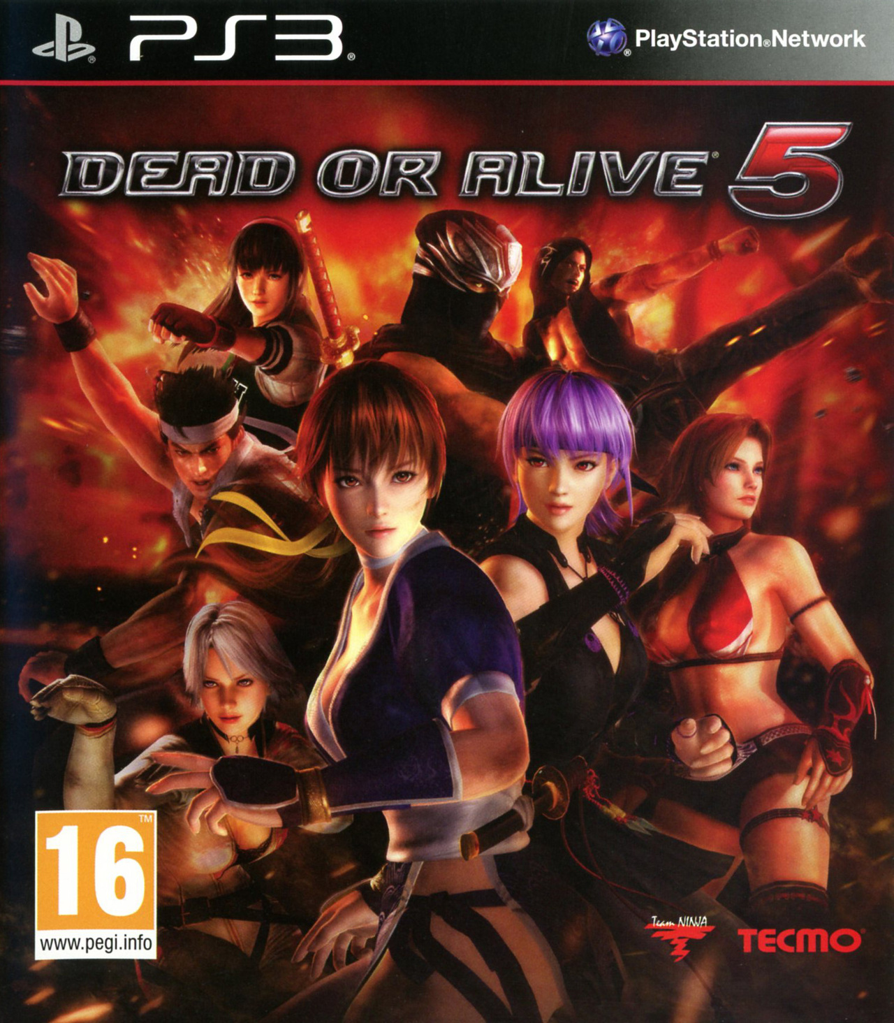 PS3 Dead or Alive 5 BLES01623 EBOOT Fix for CFW 3.55