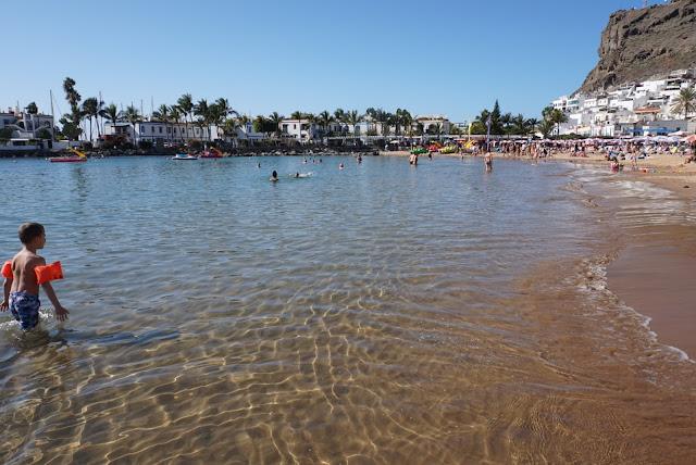 Playa Mogán beach Gran Canaria