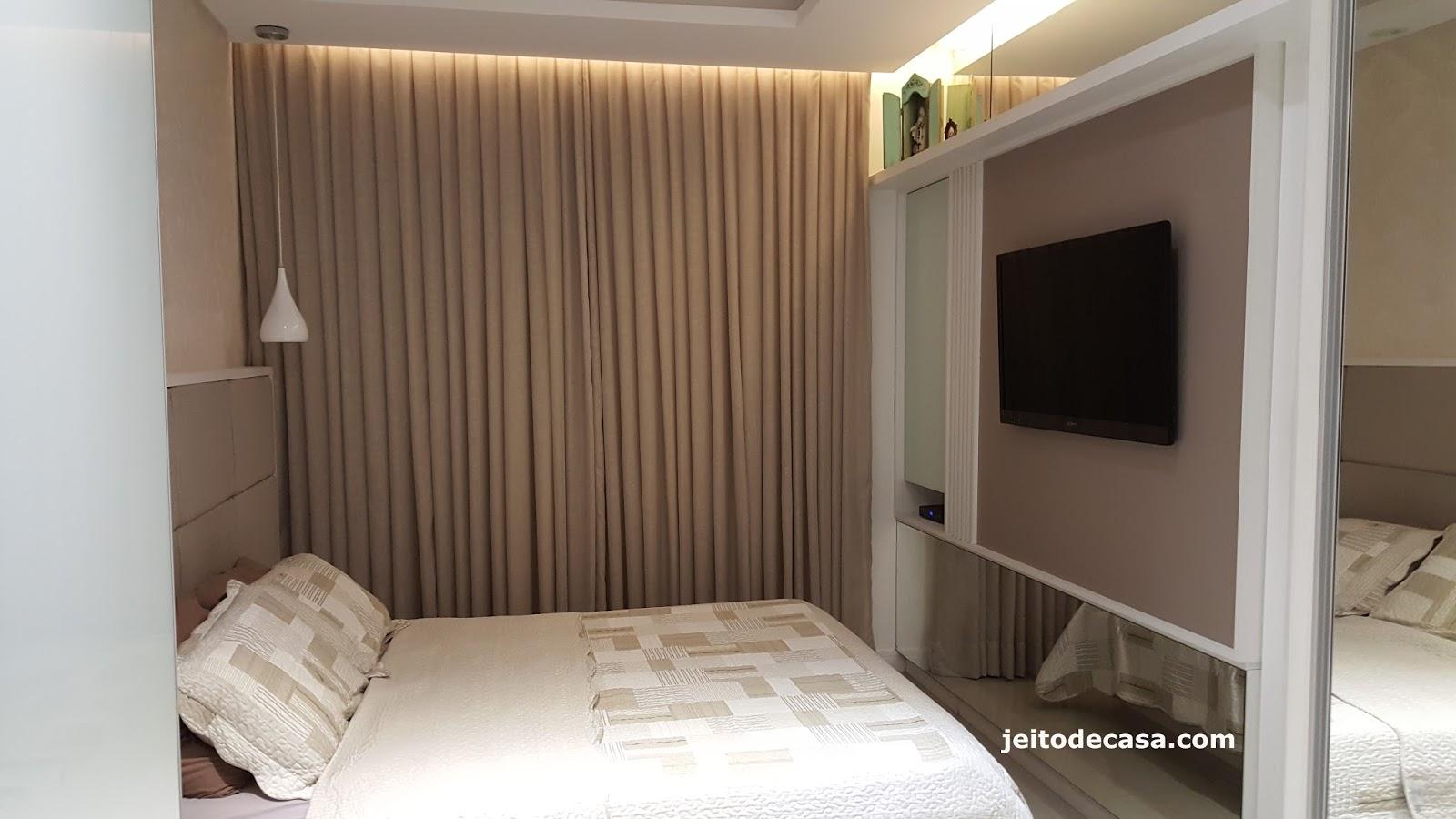 Decoraç u00e3o quarto de casal contempor u00e2neo, neutro e elegante! Jeito de Casa Blog de Decoraç u00e3o