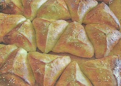 Рецепт необходимых продуктов и приготовления пирожков с фруктами
