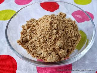 Araithuvitta Kuzhambu Powder