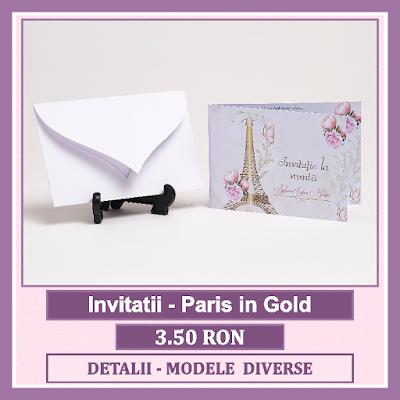 http://www.bebestudio11.com/2018/03/invitatii-nunta-paris-in-gold.html