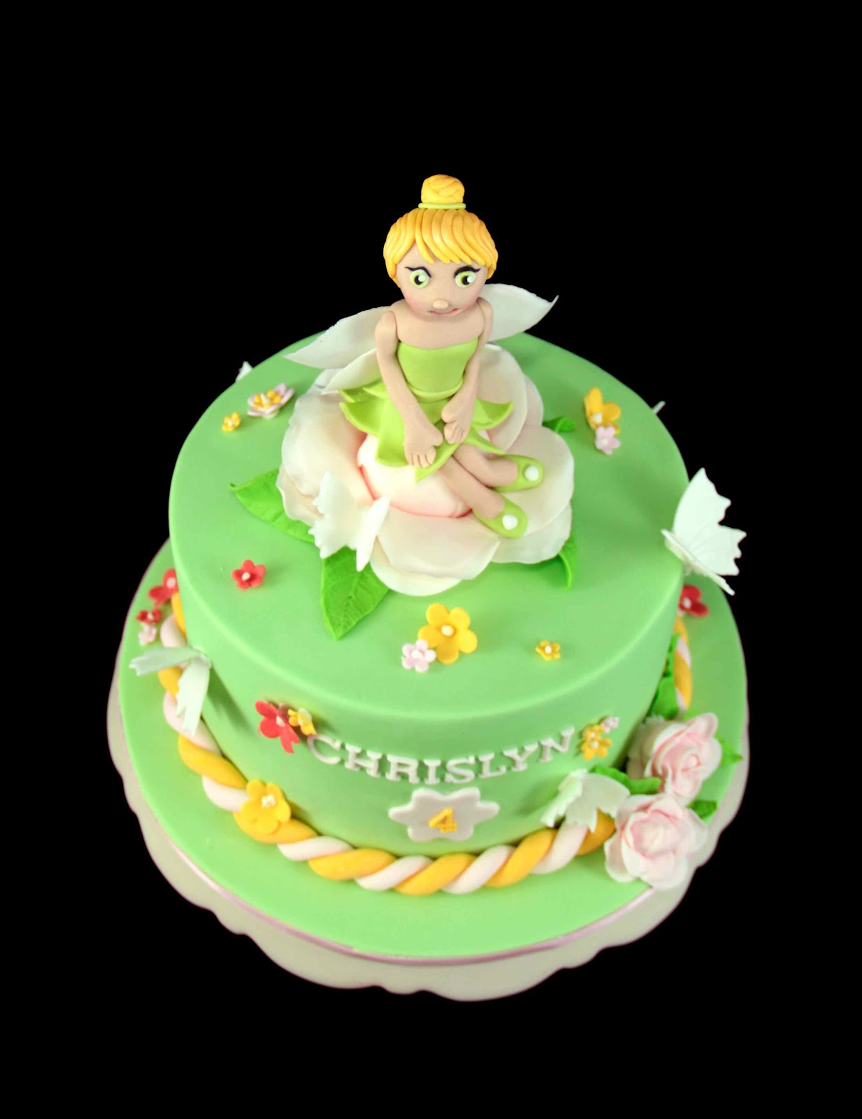 Bakerz Dad Tinker Bell Cake