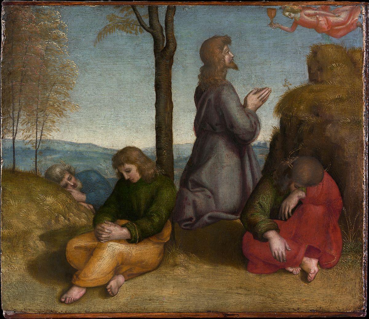 Art Faith Matters Praying In The Garden Must Jesus Bear The