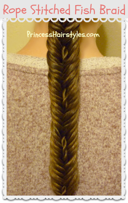 Rope Stitched Fishtail Braid Video Tutorial