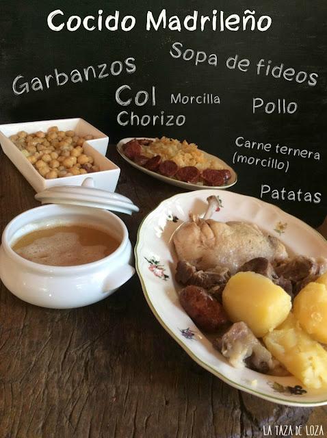 ingredientes-de-cocido-madrileño