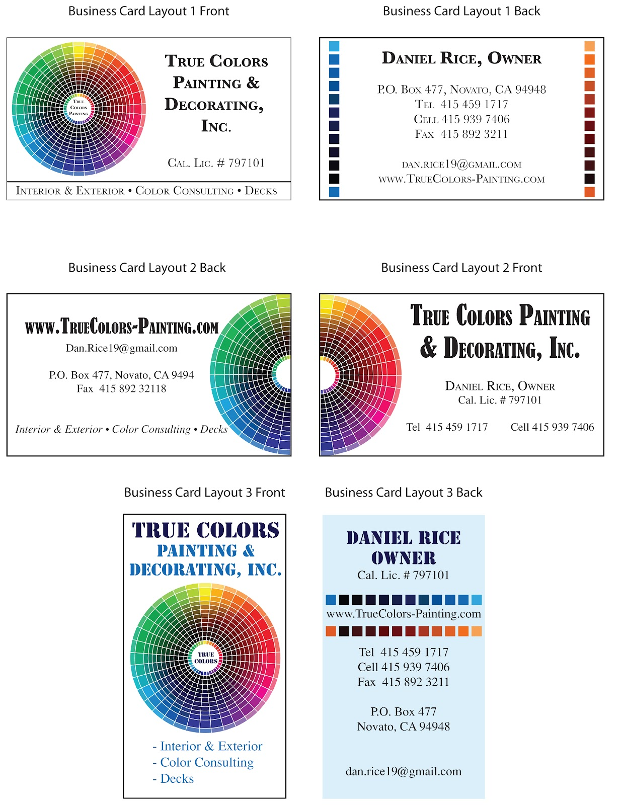Susan searway art design creating a logo true colors - Color wheel for decorating ...