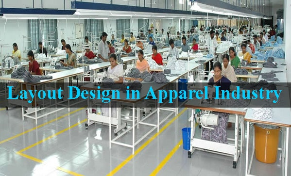 Layout design in apparel industry