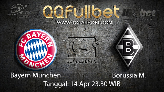 BOLA88 - PREDIKSI TARUHAN BOLA BAYERN MUNCHEN VS BORUSSIA MONCHENGLADBACH 14 APRIL 2018 ( GERMAN BUNDESLIGA )
