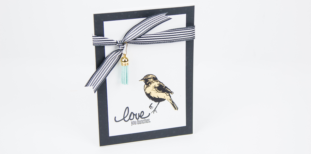 Foil your stamps with the @heidiswapp Minc by @createoften