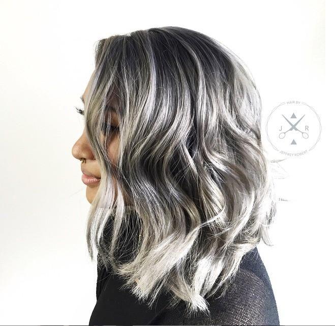 Trendy Metallic Hair Shades The Haircut Web