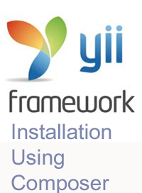 Yii installation using composer