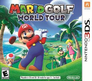 Mario Golf: World Tour, 3DS, Español, Mega, Mediafire