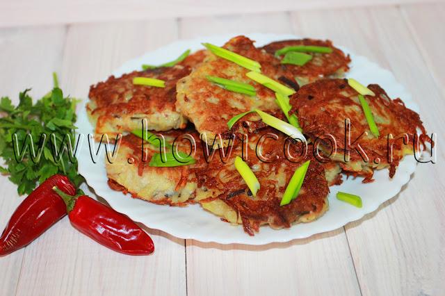 рецепт рыбных котлет в картофельной шубке