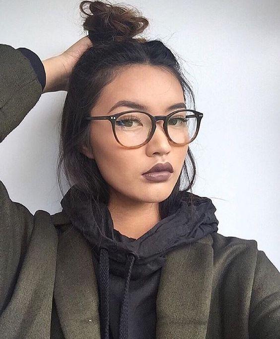 Maquillaje con anteojos