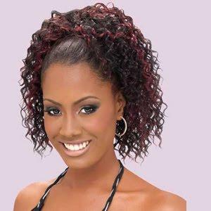Model Rambut Jheri Curl