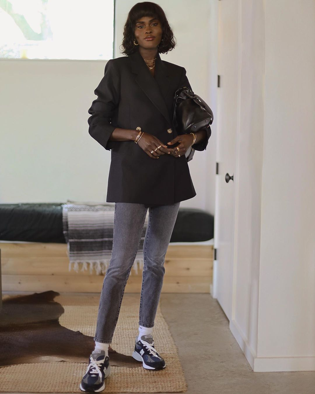 This Model-Off-Duty Look Is Perfect for Working From Home
