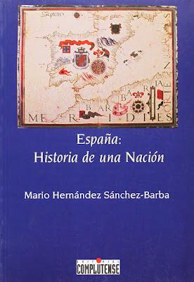 Mario Hernández Sánchez-Barba: España: historia de una nación, 1995, portada